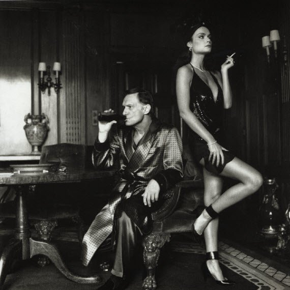 The Forest - helmut_newton_hugh_hefner_carrie_leigh